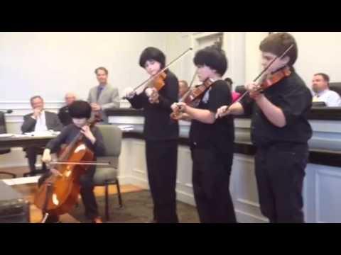 Bayou View Middle School Quartet