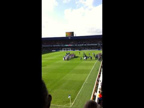 QPR Hoops song and walk on. QPR vs Liverpool 2014/15