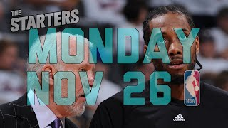 NBA Daily Show: Nov. 26 - The Starters