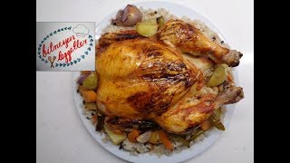 İç Pilavlı Tavuk Dolma - Bitmeyen Lezzetler