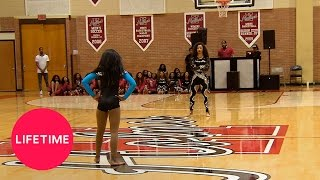 "Watch the Dolls and the A"" Girls Dance Team mirror each other's mov..."