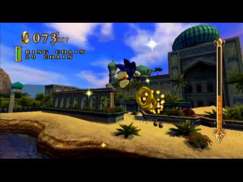 Sonic And The Secret Rings (Wii) Sand Oasis Mission 1 Gold Medal