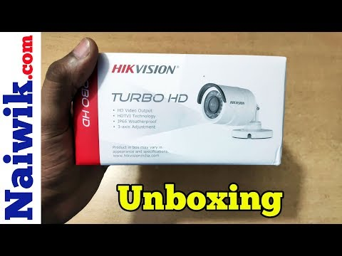 HikVision DS-2CE1AD0T-IRPF 2MP 1080P IR Bullet Camera   Unboxing