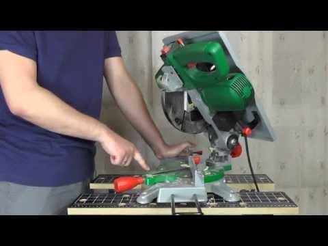 видео: Пила торцовочная hammer stl1200a