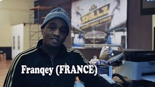 Popping dance workshop with Franqey (France) @SKILLZ studio