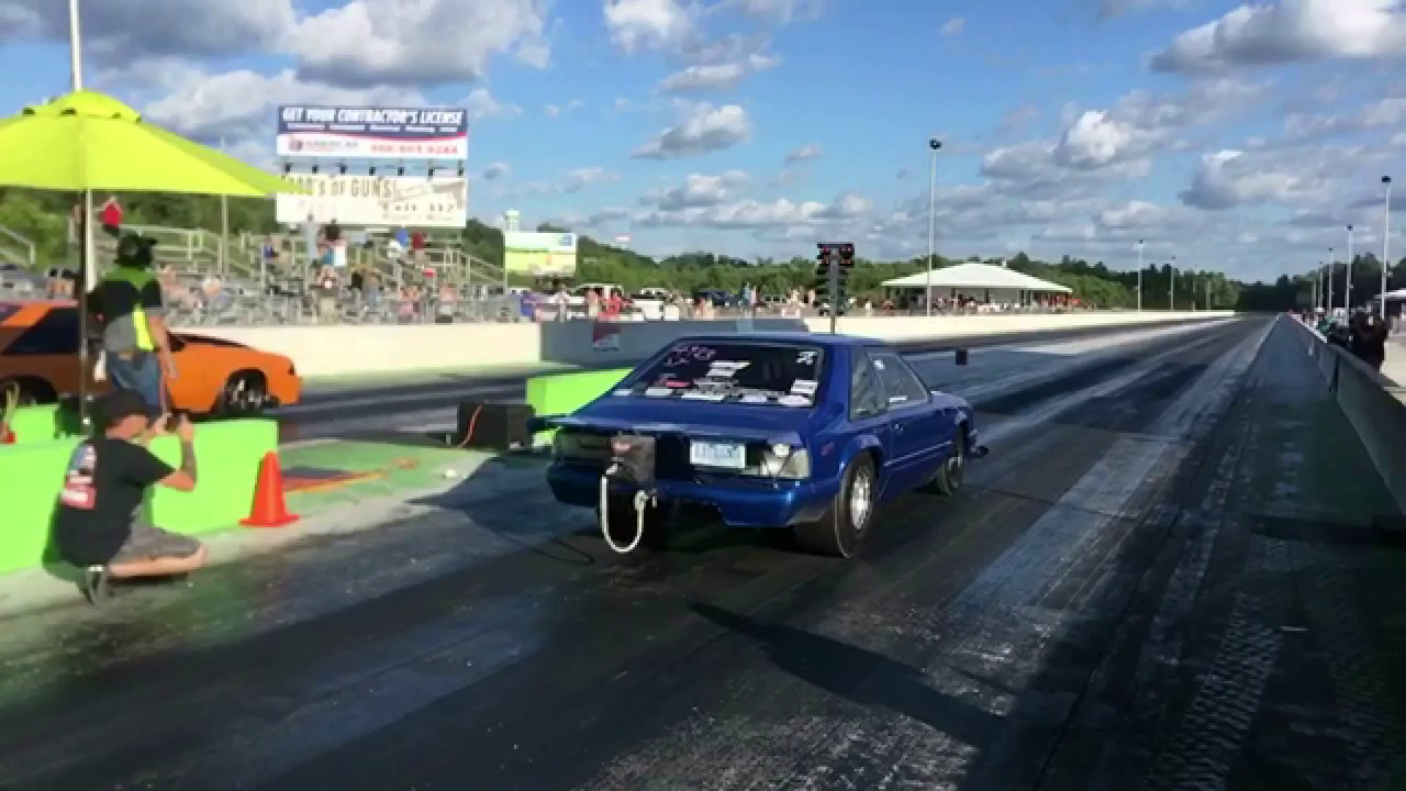 Bobby Ducote Crashes Lil Legend Mustang I 40 Dragway Crossville Tn
