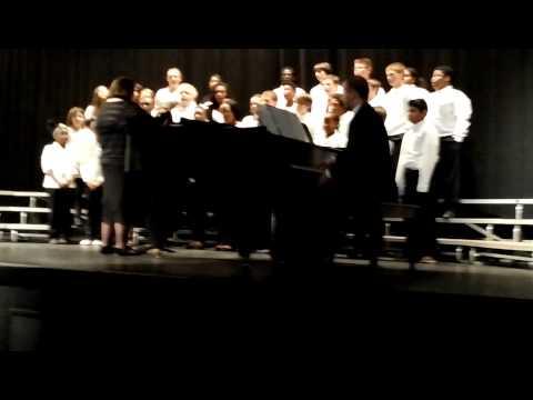 My Nephew's Concert at Hunter Huss High School