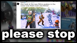Roblox's Obsession with Rthro