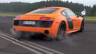 Audi R8 V10 Plus with LOUD Capristo Exhaust System!