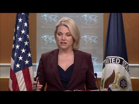 Department Press Briefing - February 22, 2018