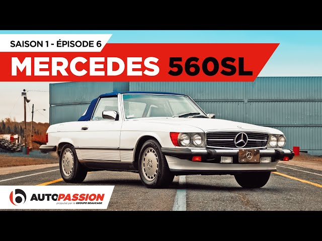 Mercedes-Benz 560SL 1989 — AutoPassion.TV — Épisode 6