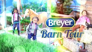 Fabulous Crafts Review:  Breyer Horse Barn Tour