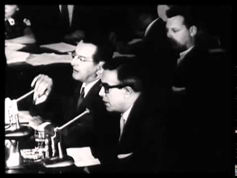 Johnny Dio Questioned by McClellan Committee in 1957