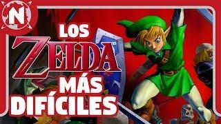 TOP 5 - Los juegos de Zelda más difíciles