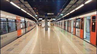 GVB R-net Amsterdam Metro 51, 53 en 54 op Centraal Station