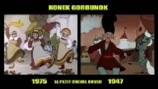 Konek Gorbunok 1975 vs 1947