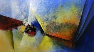 Curso de Pintura em Tela - Abstrato Dinâmico -