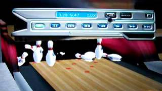 A REALLY weird strike in PBA Bowling 2001