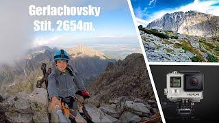 Climbing Gerlachovsky stit, 2654 m