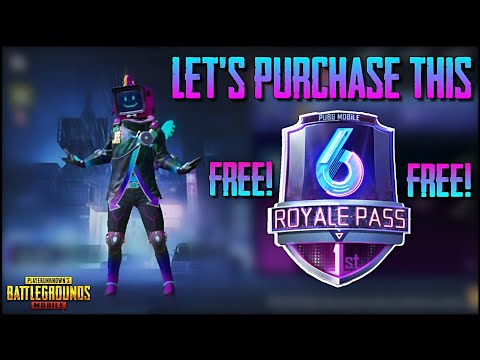 HOW TO BUY SEASON 6 ELITE ROYAL PASS IN PUBG MOBILE ! GET FREE UC CASH