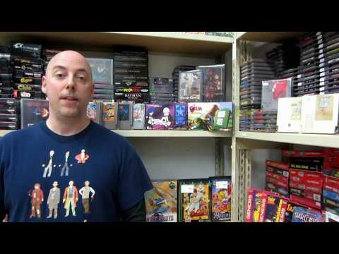 Retro Game Store Tour and update L1 Games