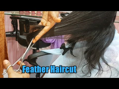 Feather cut with layers/How to cut feather haircut/layers feather haircut/layer haircut/feather hair