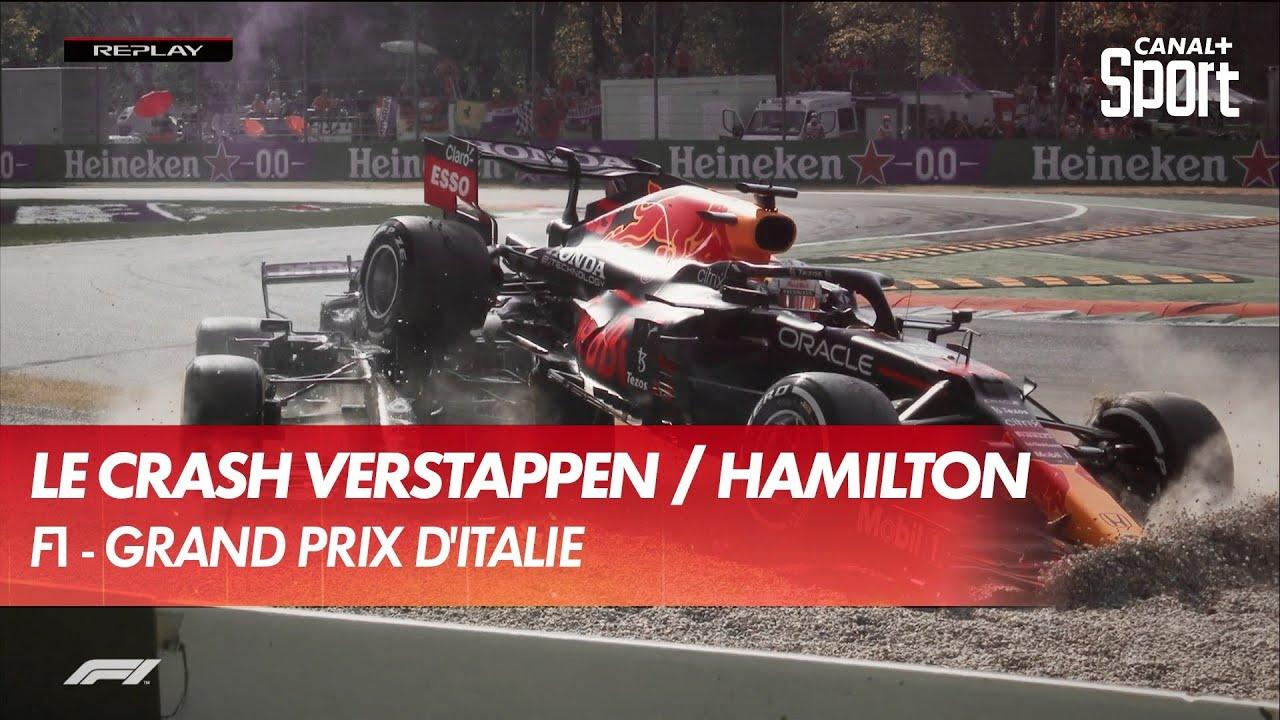 L'accident de l'année ! Crash entre Verstappen et Hamilton ! - CANAL+ Sport