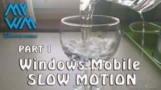 Slow Motion Windows 10 Mobile  120fps / 960 fps   Lumia 930 part 1