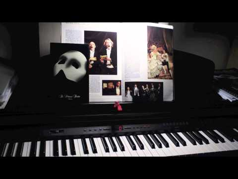 """Prima Donna"" from Phantom Of The Opera - solo piano (HD)"