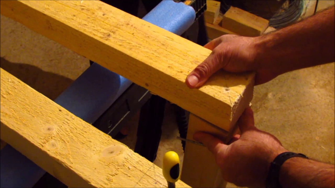 Comment Fabriquer Un Mobile En Bois bricolage : comment fabriquer un établi de travail en bois - work bench