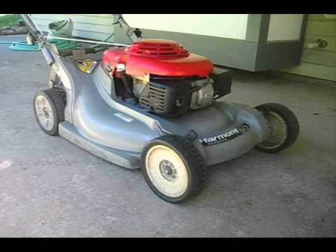 Honda Harmony Lawnmower You