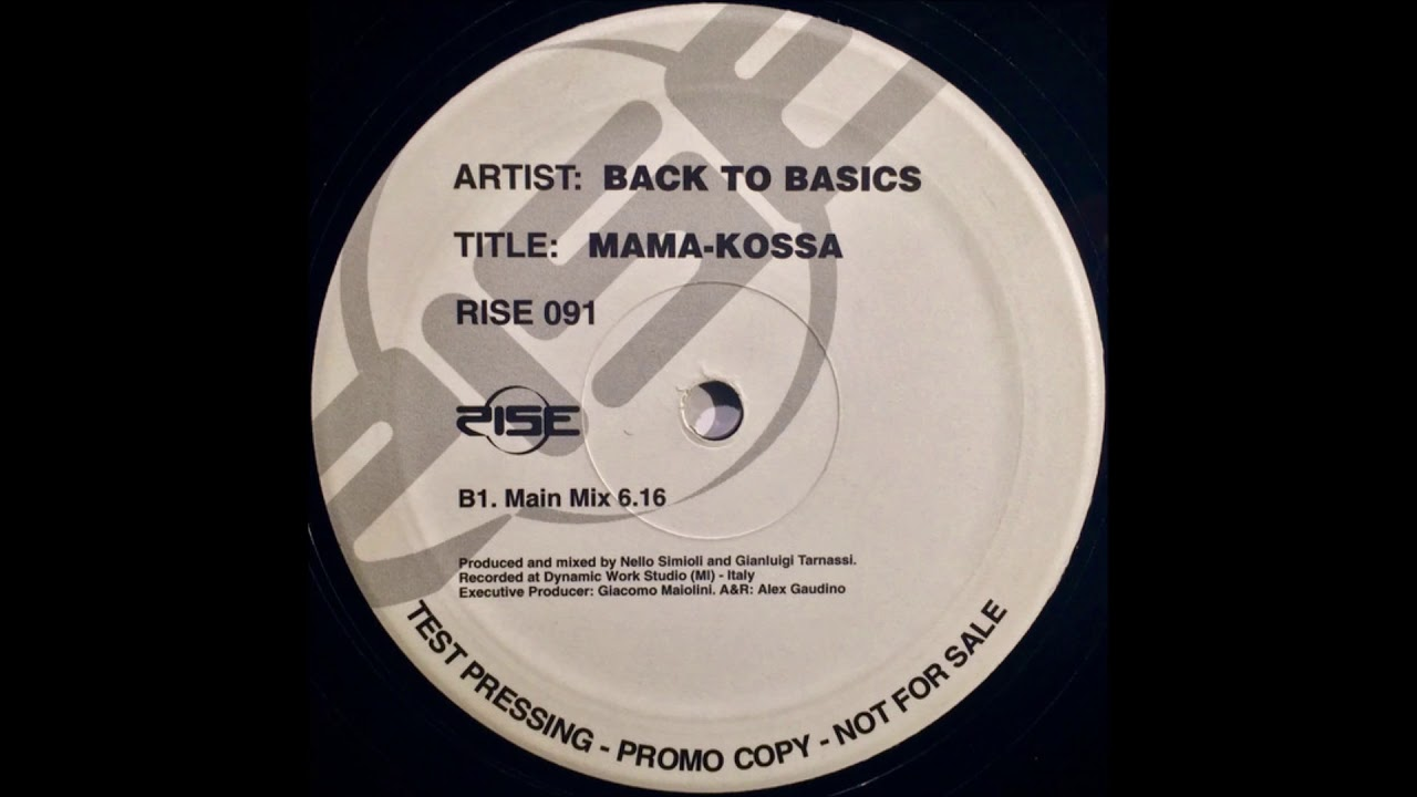 Back To Basics - Mama-Kossa (Main Mix) (2000)