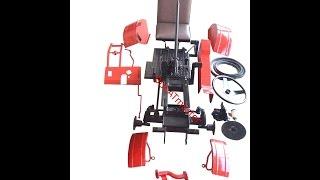 Видеообзор комплекта для переделки мотоблока в трактор (комплект EXPERT) базовый