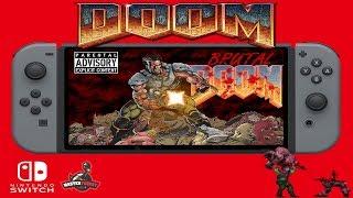 Brutal Doom for the Nintendo Switch (GZDoom)