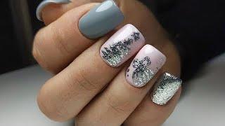 Красивый зимний маникюр 2020 2021 фото идеи красивого дизайна ногтей Nail Art