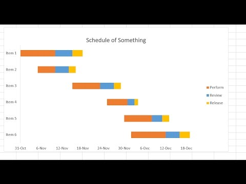 How to create a schedule in excel - YouTube - create schedule