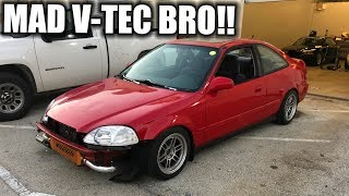 RICER CIVIC MAKING MAD BOOST!
