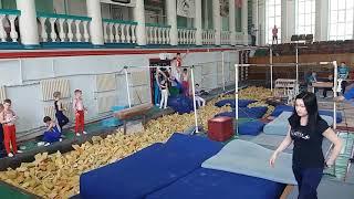 Спортивная гимнастика. 3 разряд. 28.04.18. Арефьев Егор(3)