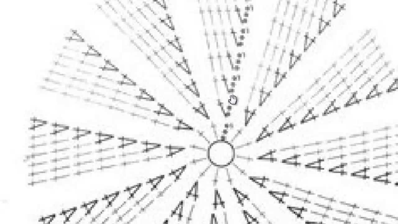 как читать схемы вязание круга столбиками с накидом крючок Youtube