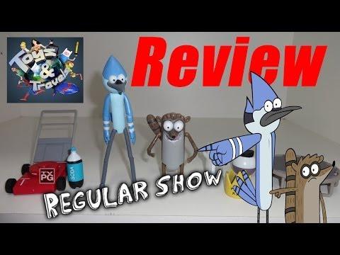Review dos bonecos Mordecai e Rigby - Apenas um Show