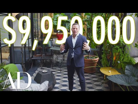 Inside a $10M NYC Penthouse with a Tropical Garden | On the
