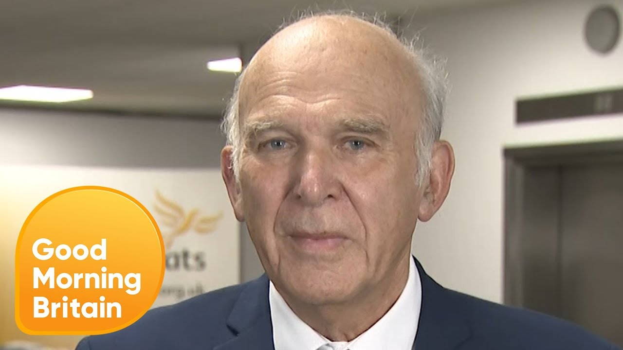 Sir Vince Cable Gets Challenged on His Leadership of the Liberal Democrats | Good Morning Britain