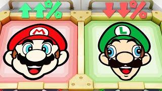 Super Mario Party MiniGames - Mario Vs Luigi Vs Yoshi Vs Waluigi (Master Cpu)