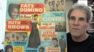 Rhythm 'n' Blues of 1956 Window Card – Little Richard, Fats Domino