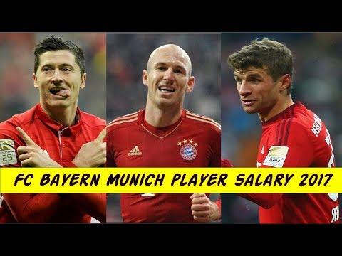 FC Bayern Munich Football Player Salary 2017.