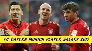 FC Bayern Munich Football Player Salary 2017.