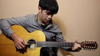 Composed by John Fahey Guitar Model: Taylor LKSM-12 Tuning: B E A D...