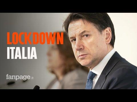 Coronavirus, Conte annuncia il blocco totale dell'Italia
