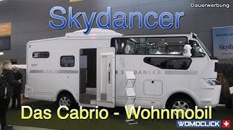 Weltpremiere Skydancer Apéro - Das Cabrio-Reisemobil / womoclick
