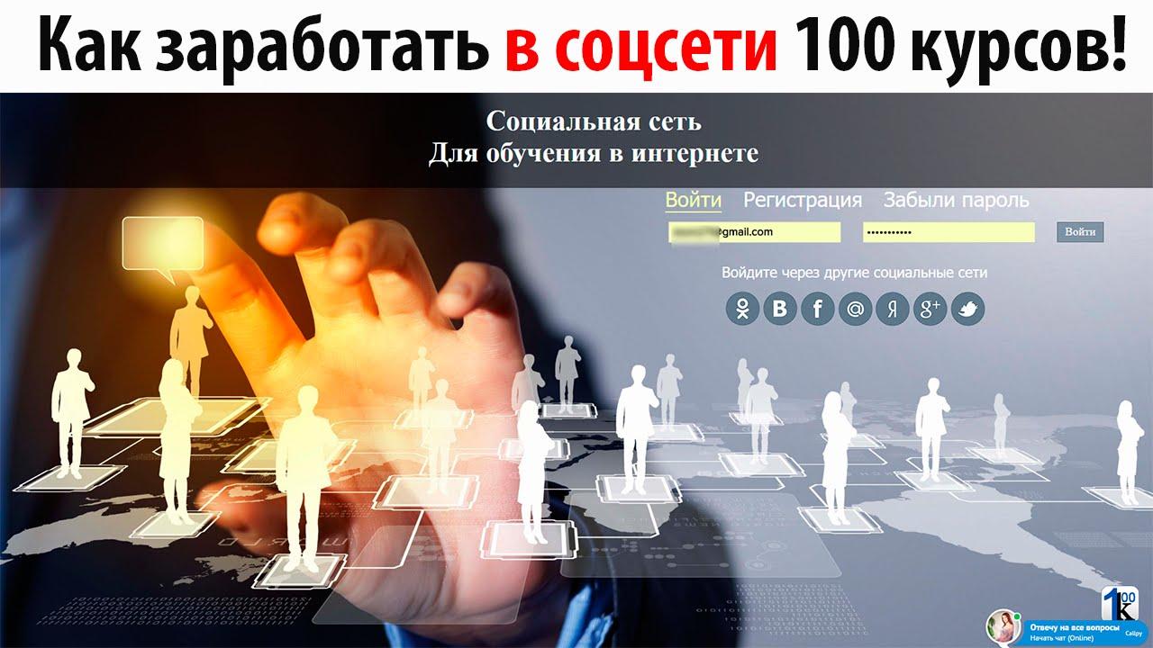 Курс Заработок на Автопилоте|Как заработать в соцсети 100 курсов!